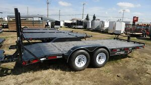 2016 Rainbow 20' Skidsteer Trailer. Canadian Made