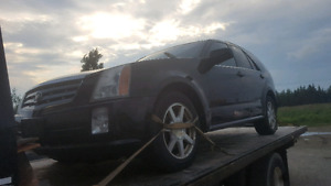 2007 Cadillac srx complete part out
