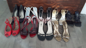 Women's shoes, size 8, 8.5 and 9