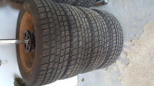 Like new COOPER Winter tires