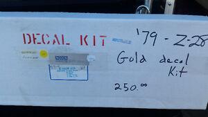 1979 z28 decal kit