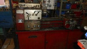 TOUR A METAL ELLIOTT 12 X 30 GEAR HEAD METAL LATHE