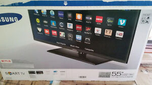 "New  Samsung 55 "" 1080 p 120HZ LED Smart TV,"
