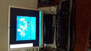 Desktop computer with LCD Monitor
