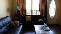 Furnished Sunny Large 3 bedrooms with 2 Balconies!!!!