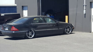 2000 Mercedes Benz S500. Low km.