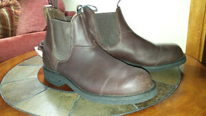 Mens Western Canadian Leather