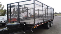 2012 20ft Heavy Duty T/A Cage Trailer w/ Ramps. Calgary Alberta Preview
