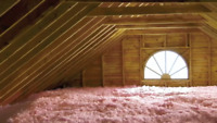 Attic insulation Removal - wood chips - Upgrades 780 - 297 6653