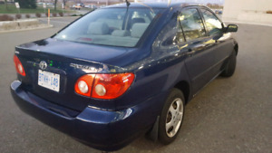 TOYOTA COROLLA MINT CONDITION, IMMEDIATE SALE