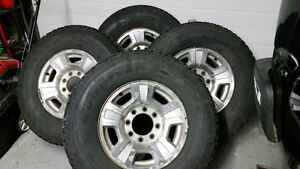 4 - Chevy Rims and Goodyear Tires