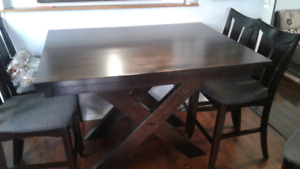 Harrison extandable dining table only no chairs