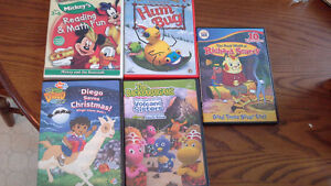 Kids DVD's 5 for $20.00 or $5.00 each Cambridge Kitchener Area image 1