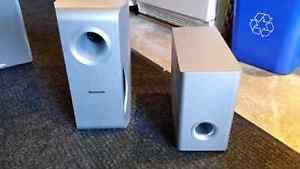 Panasonic Subwoofer Bass Speaker Home Theater Audio West Island Greater Montréal image 1