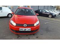 Volkswagen Golf BlueMotion TDI 1.6 105 PS (red) 2009