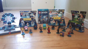 Wii U - Lego Dimensions sets