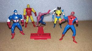 Lot figurines, Marvel, Spider Man et +, Diecast.