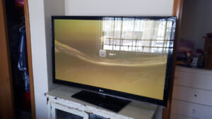 "50"" Plasma 1080p LG Flatscreen! Mint Condition - $400 OBO!"