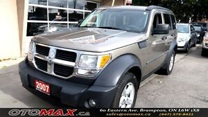 2007 Dodge Nitro SXT | NO ACCIDENT | AWD | ALLOYS | CERTIFIED