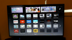 "Panasonic 50"" TC-50AS630U HD SMART TV with TV stand."