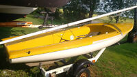 CODE 40 - 14' Racing Dinghy / with trailer