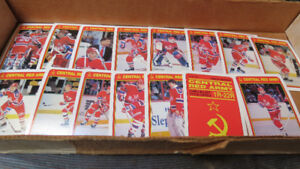 1990-91 Central Red Army NHL OPC cards(15)