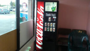 Vending location w/ Coke pop machine for sale