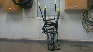 2 wheel barrow frames 5.00 each