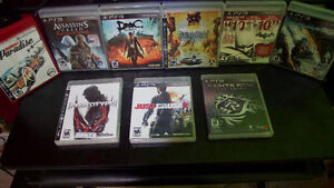 Lot of PS3 Games! Great Condition.
