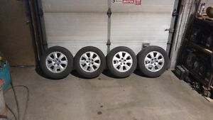 4 Toyota Rims & Michelin Tires 205 / 65 R15, Tread is Like New