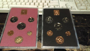 Coinage of Great Britain & Northern Ireland 1979 & 1978 Coin set