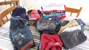 Lot de vêtements garçons 3 - 4 ans
