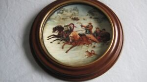 Collectable Plate Framed - Like New