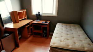 FURNISHED CLEAN AND BRIGHT BEDROOM - Upper Floor