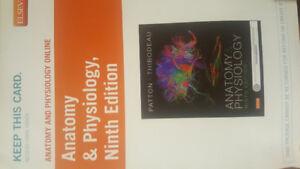 Access Code Anatomy & Physiology Ninth Edition Patton Thibodeau