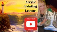 FREE Acrylic Painting Lessons for Beginners!