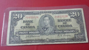 1937 osborne towers 10 and 20...MUST SELL BANKNOTES
