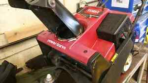 Toro Power Curve single stage Snowblower