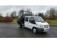Ford Transit 2.4TDCi ( 100PS ) t350 crew cab tipper