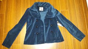 KensieGirl Teal Jacket - Size Large