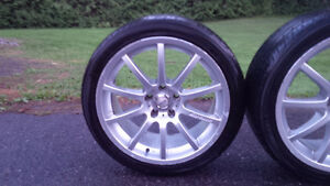 "PRICE REDUCED 18"" Moven Rims with Yoko AVID Envigor 235/40 r18 Gatineau Ottawa / Gatineau Area image 3"
