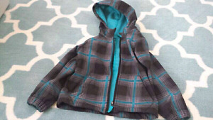 4T Boys Plaid Spring Jacket
