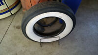 Ford Model T Stand and White Wall Tire in Mint condition!