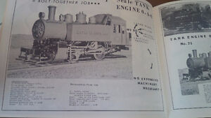 Little Engines, Live Steam Locomotives, 1962 Catalog Kitchener / Waterloo Kitchener Area image 2