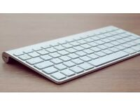 Apple wireless keyboard, wireless magic trackpad & wireless magic mouse