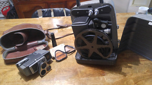 Bell & howell vintage camera & projector
