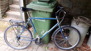 Blue Raleigh - 21 speed, Great condition, new components