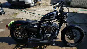 Customized 2010 XL1200N Harley Davidson Nightster