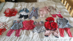 Big lot of Baby girl clothing (0 - 6 months)