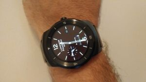 LG Watch-R Android Watch, Fitness Tracker & More